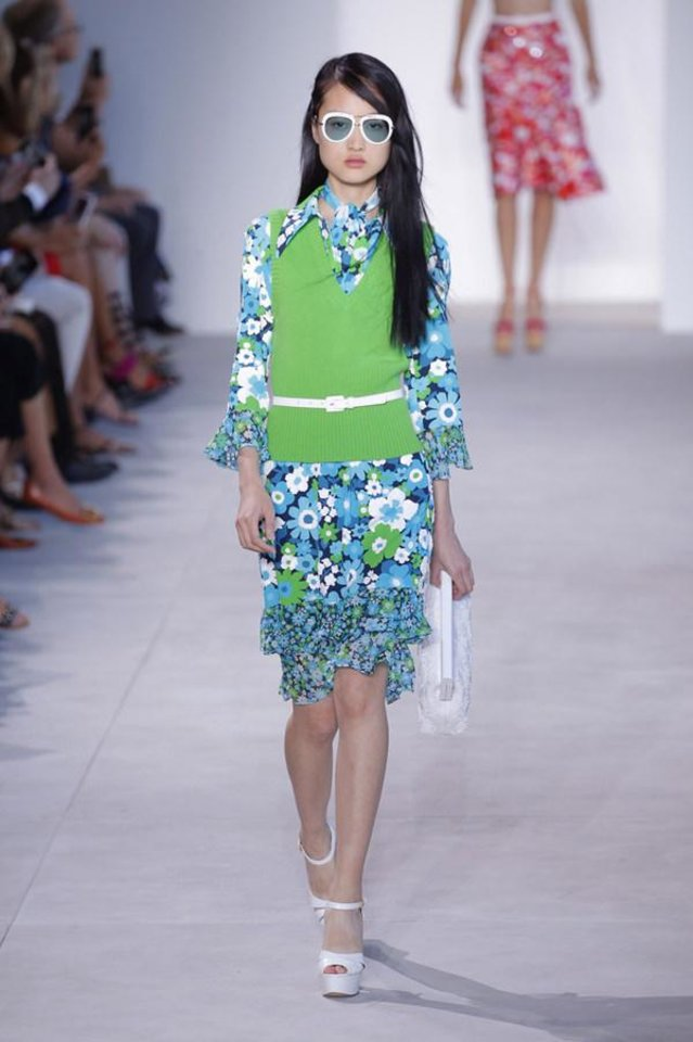 Photo - Michael Kors outfit for spring 2016. [Photo Provided]