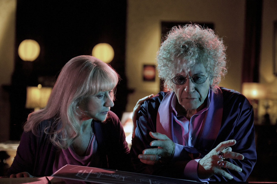 """PHIL SPECTOR:"" Helen Mirren, Al Pacino. - Photo by Phillip V. Caruso"