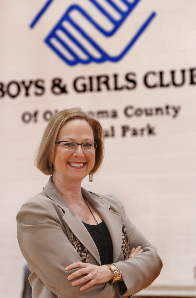 Executive Q & A    Jane Sutter, president of Boys & Girls Club of Oklahoma City, inside the organization's center at NW 35 and Western on Tuesday, March 6, 2012. Photo by Jim Beckel, The Oklahoman