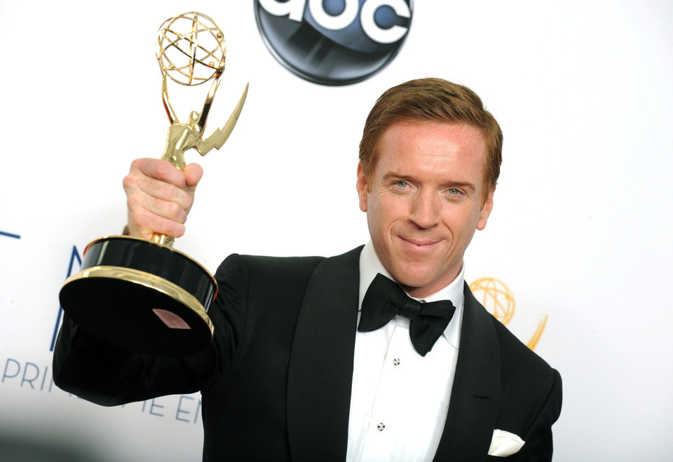 Photo -   Actor Damien Lewis, winner of the Outstanding Lead Actor In A Drama Series award for