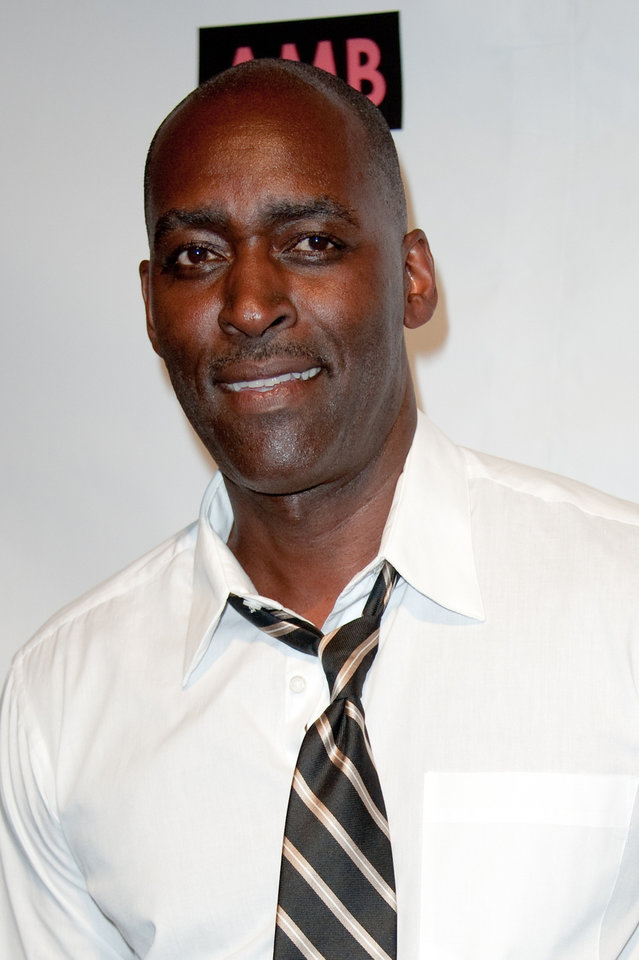 Photo - FILE - In this Oct. 6, 2012 file photo, actor Michael Jace attends WordTheatre presents Storytales at Ford Amphitheatre in Los Angeles.  Jace, an actor who played a police officer on