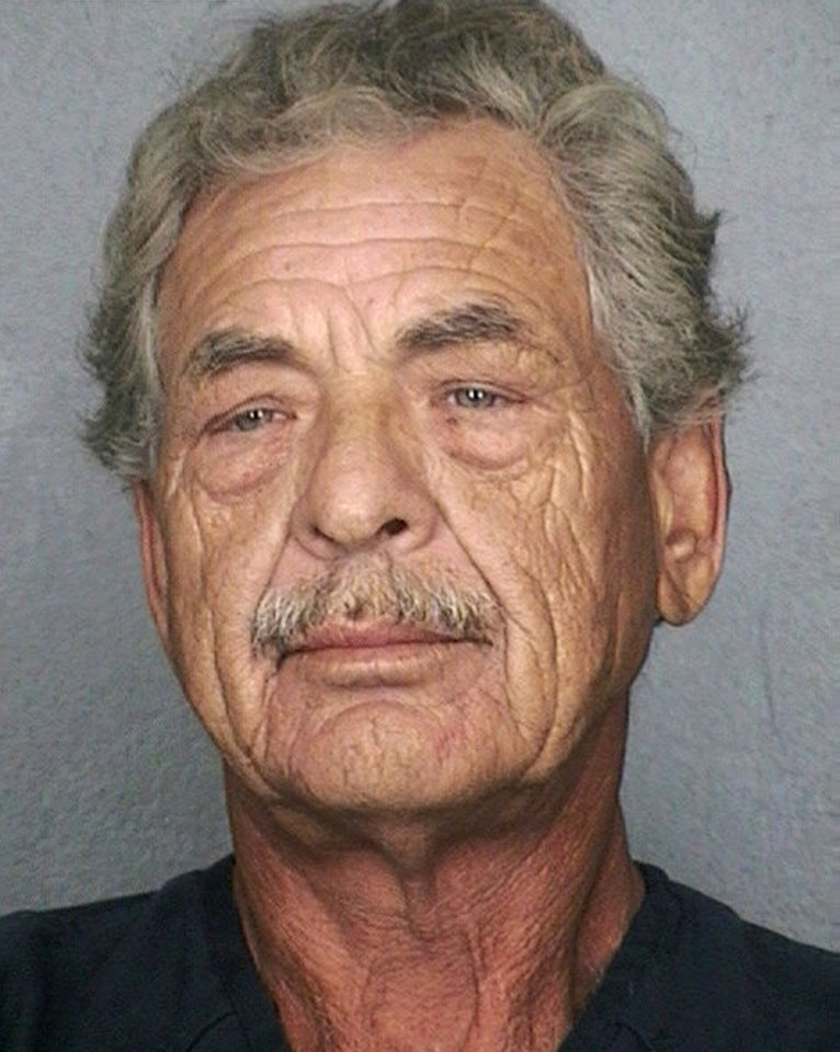 FILE - In this photo provided by the Broward County, Fla., Sheriff's Office is James Robert Jones, 59, who walked away from the famed prison at Fort Leavenworth nearly 40 years ago. Jones returned to Kansas Tuesday, March 18, 2014 and is being housed at the U.S. Disciplinary Barracks where he is expected to serve out the remaining time on a 23-year sentence for murdering a fellow soldier at Fort Dix, N.J., in 1974. (AP Photo/Broward County Sheriff's Office, File)