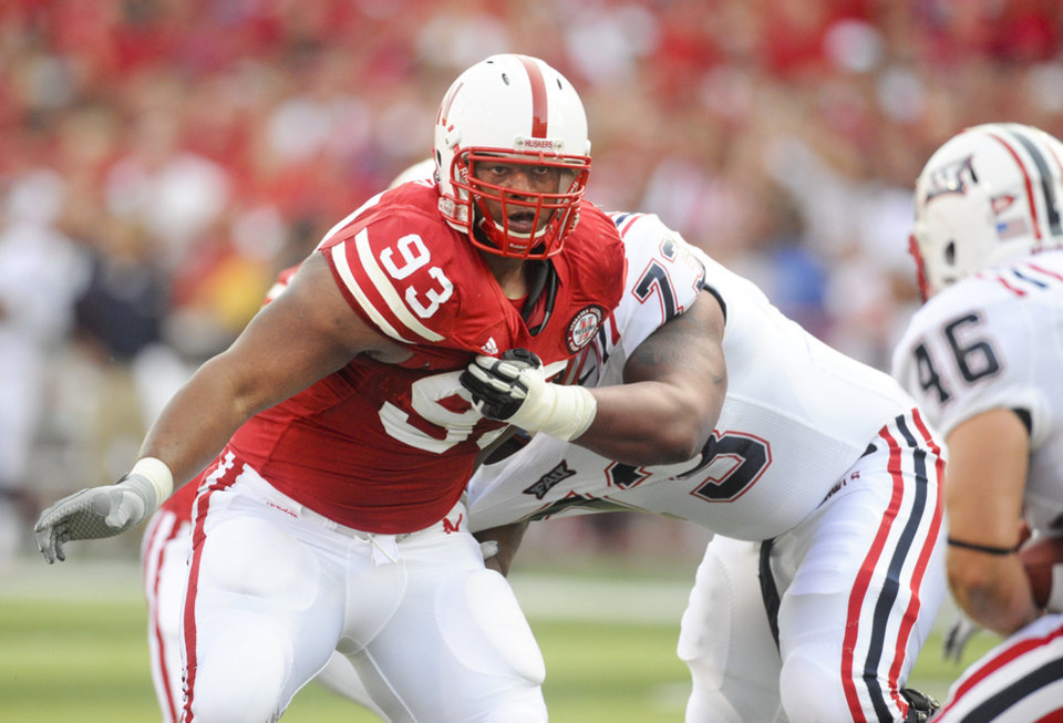 Photo - Nebraska's Ndamukong Suh is also considered by many as the top DT in the nation and will vie for the Outland and Lombardi trophies. AP photo