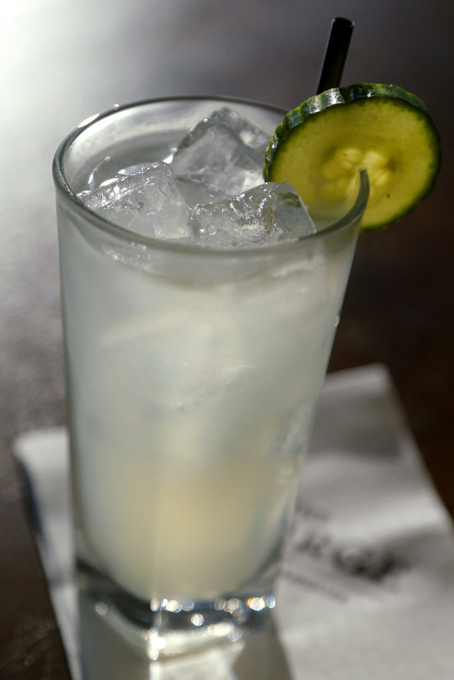 Photo -  You'll ask if you can get the Cucumber Collins in a to-go cup to take to the pool. You'll be told, 'No.""