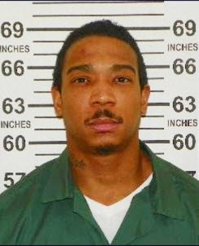 "Photo - In this Feb. 1, 2013, photo provided by the New York State Department of Corrections and Community Supervision, Jeffrey Atkins, also known as the rapper ""Ja Rule"" is shown. Atkins, who served 20 months of a two-year state sentence for gun possession at Mid-State Correctional in Marcy, N.Y., will be released directly into federal custody on Thursday, Feb. 20, to serve a 28 month sentence for tax evasion. (AP Photo/New York State Department of Corrections and Community Supervision)"