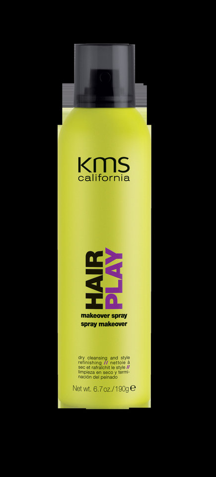 Photo - Instead of washing and blow drying your hair everyday, consider using a product such as KMS Makeover Spray that can refresh your style in an instant. Photo provided.