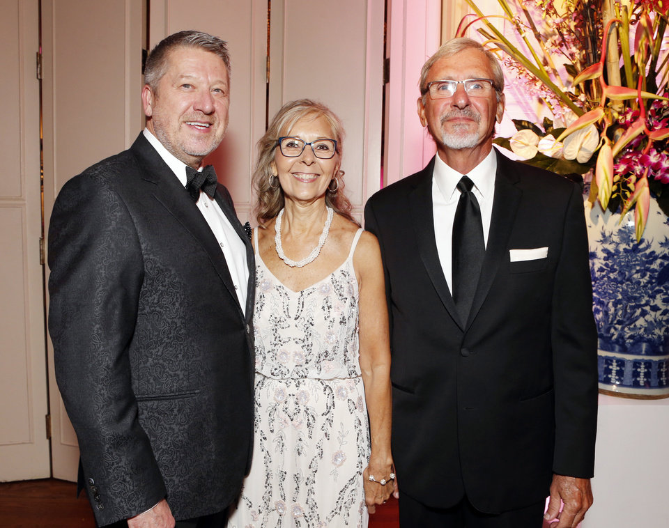 Photo - Michael Whittington, Martha and Michael Coffman. PHOTO BY STEVE SISNEY, THE OKLAHOMAN