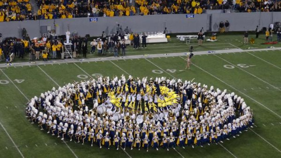 Photo -  The Mountaineer Band was impressive.