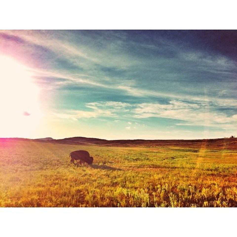 Wichita Mountains in Lawton - Photo via Instagrammer @bethany_young