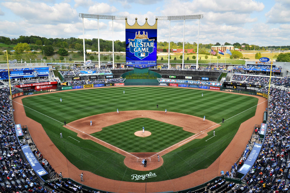 Photo - Kauffman Stadium will play host to this year's Major League Baseball All-Star Game.   - PROVIDED