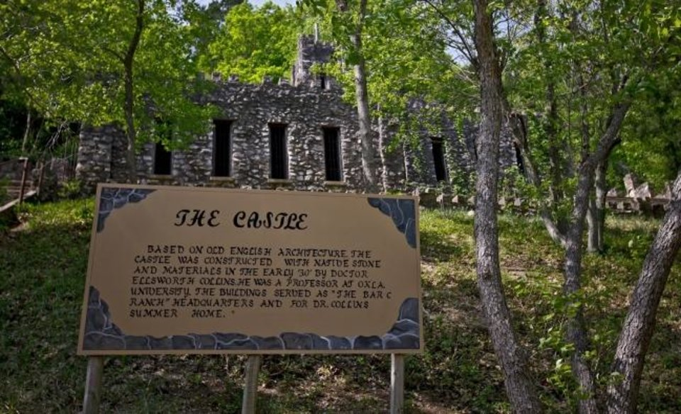 Photo -  The historic Collings Castle located in Turner Falls Park is seen  in 2011. [Chris Landsberger/The Oklahoman Archives]