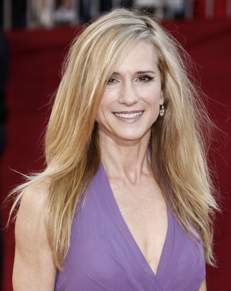 Photo - Holly Hunter arrives at the 60th Primetime Emmy Awards in Los Angeles, Sunday, Sept. 21, 2008. (AP Photo/Matt Sayles) ORG XMIT: CAMW108