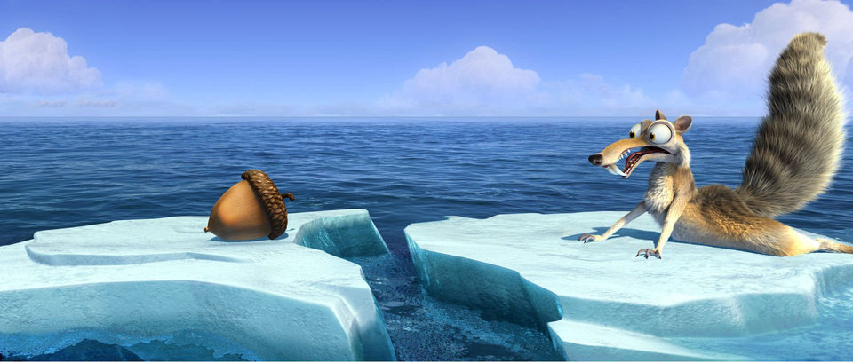 Photo - Scrat (voice of Chris Wedge) continues his quest for his elusive acorn in