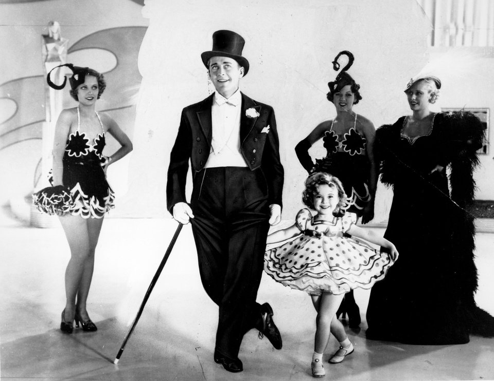 Photo - FILE - This undated file photo shows six-year-old Shirley Temple as she appears in her first featured role in the 1934 musical