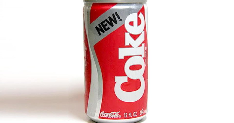 Photo - New Coke was a spectacular failure for the beverage company in the 1980s.