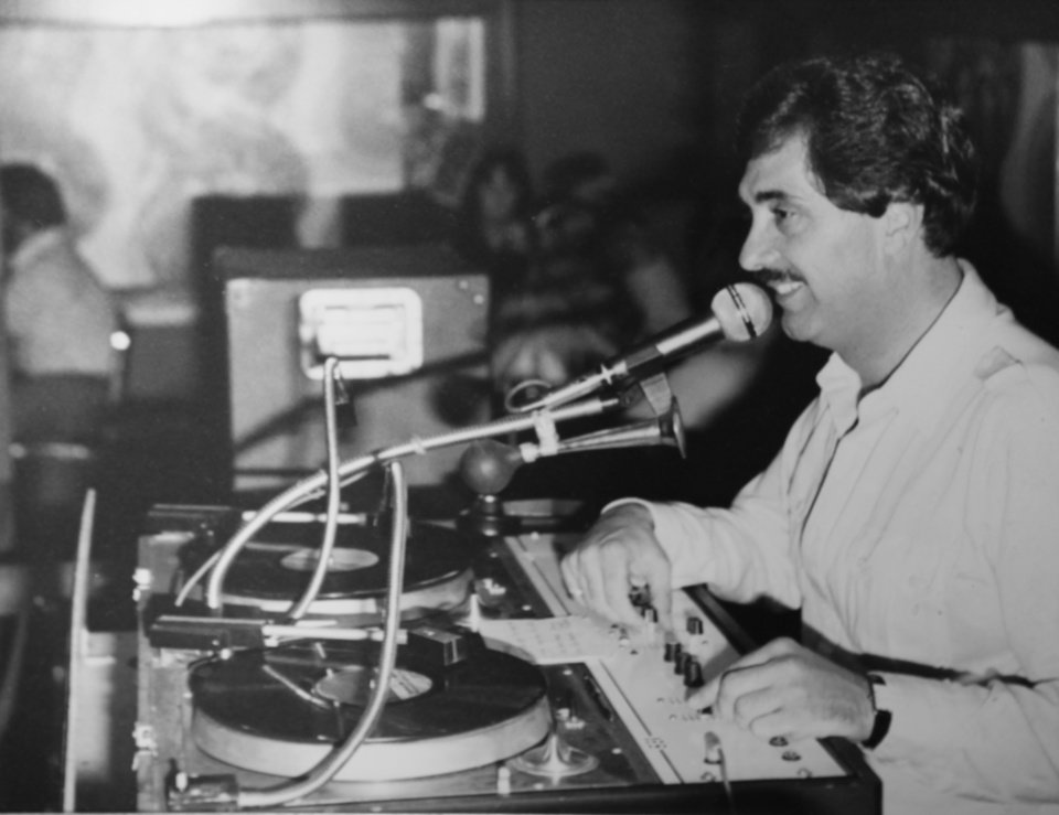 Dale Wehba works as a radio DJ in the 1970s in Oklahoma City. Photo provided by Dale Wehba