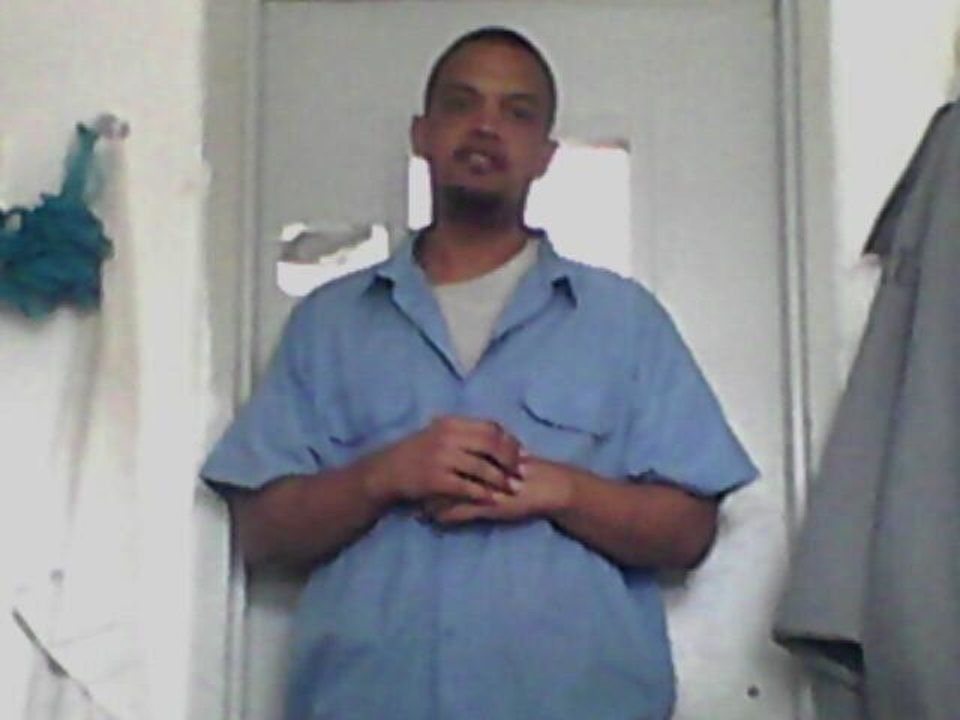Burglar Joshua Owen, 25, was disciplined in February after his Facebook page was found on one of three cellphones hidden in the wall of a cell at Mack Alford Correctional Center in Stringtown. This photo was posted to his Facebook page in March.  <strong>Facebook - Facebook</strong>