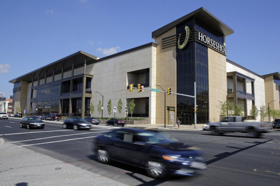 Photo - This Aug. 25, 2014 picture shows the Horseshoe Casino in Baltimore. The casino opened its doors Tuesday, and it's the last of five to open in Maryland after lawmakers legalized gambling in the state. Baltimore Mayor Stephanie Rawlings-Blake called the casino a