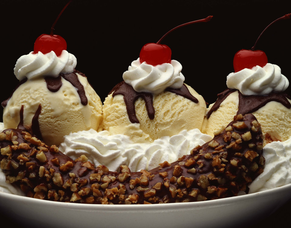 ... out the ice cream scoops: It's National Banana Split Day | News OK