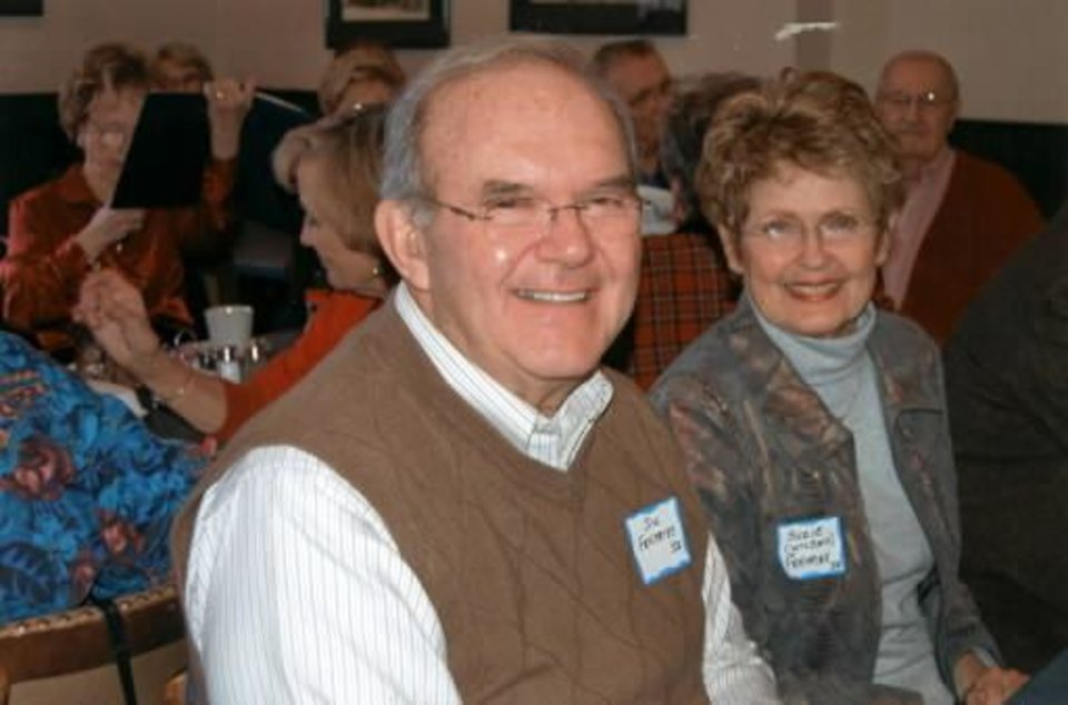 Jim and Suzie Fentriss at the Boulevard Boys' Sweetheart Luncheon. Photo provided
