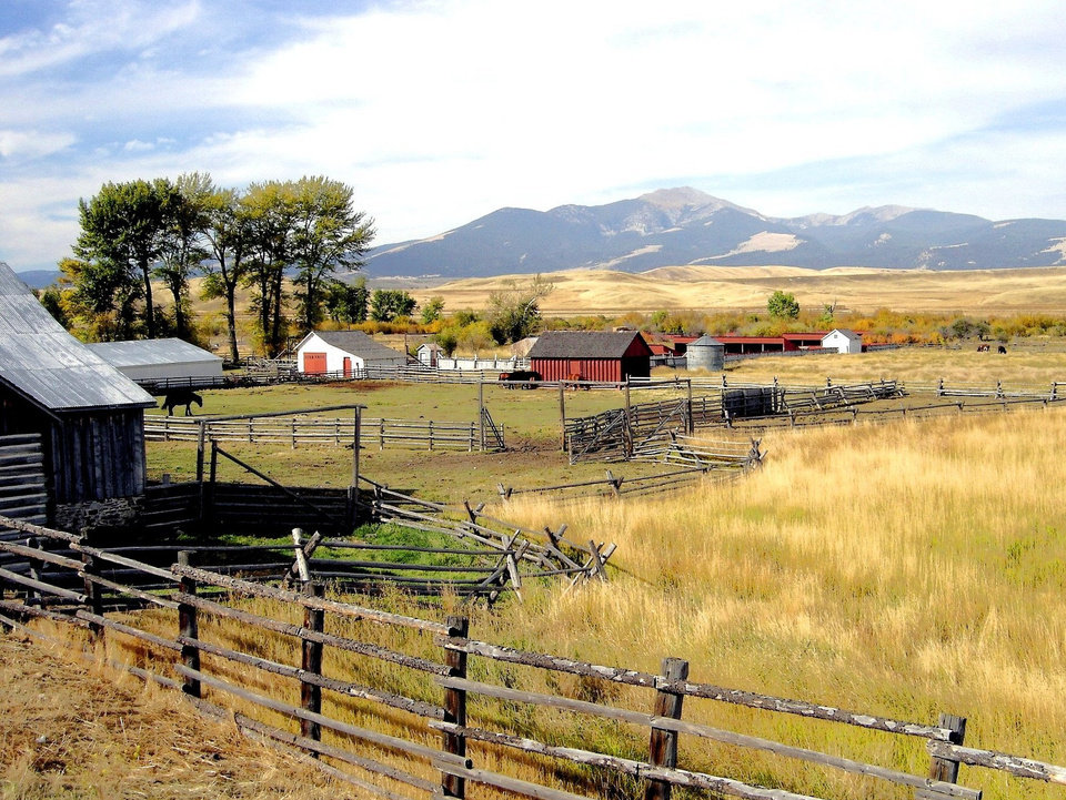 A view from the Grant-Kohrs ranch in Deer Lodge,Montana<br/><b>Community Photo By:</b> Eldon<br/><b>Submitted By:</b> Eldon, Bethany