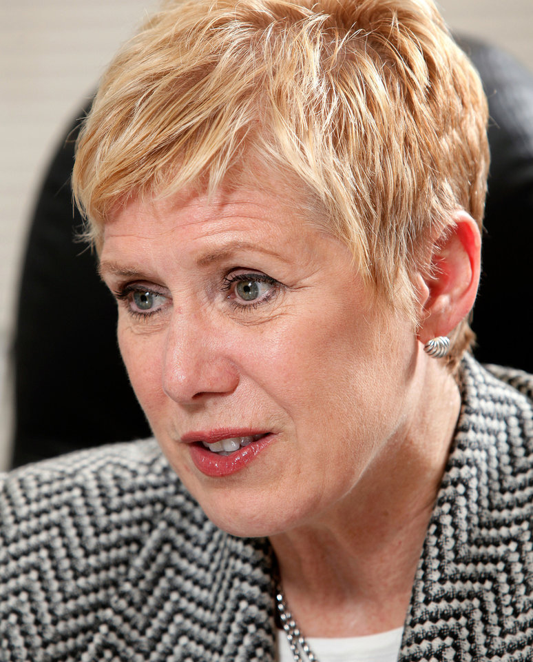 Oklahoma schools superintendent Janet Barresi <strong>JIM BECKEL</strong>