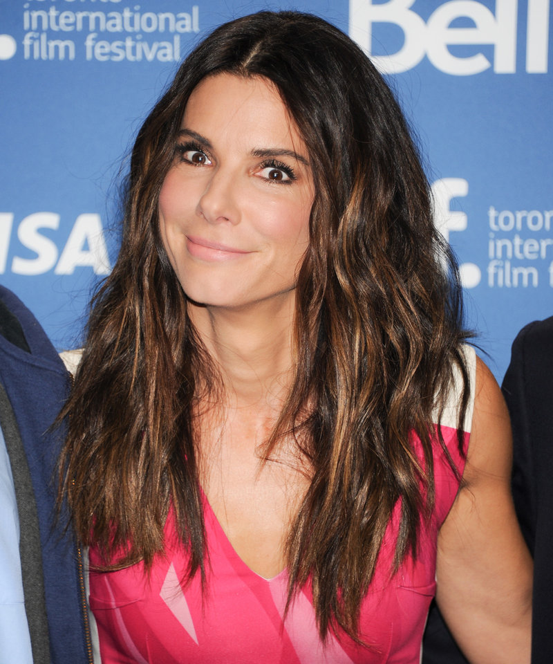 "Actress Sandra Bullock attends the press conference for ""Gravity"" on day 5 of the 2013 Toronto International Film Festival at the TIFF Bell Lightbox on Monday, Sept. 9, 2013 in Toronto. (Photo by Evan Agostini/Invision/AP) ORG XMIT: TOEA105"