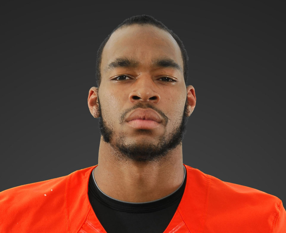 Lyndell Johnson, OSU liinebacker. PHOTO PROVIDED BY OSU