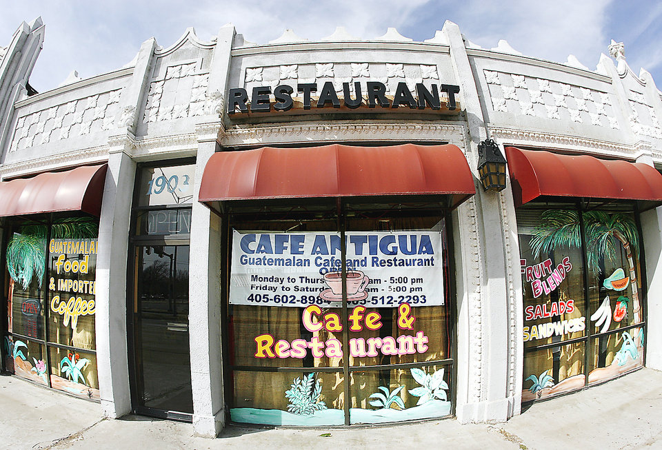 Photo - Cafe Antigua is at 1903 Classen Blvd.