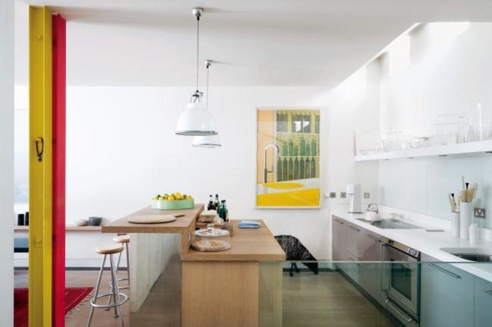 "Photo -  ""You don't need to spend a fortune to create a kitchen that works well. In fact, a tight budget can be a useful restraint, enabling you to focus on what really matters,"" says designer Terence Conran in his new book. [PROVIDED/PAUL RAESIDE]"