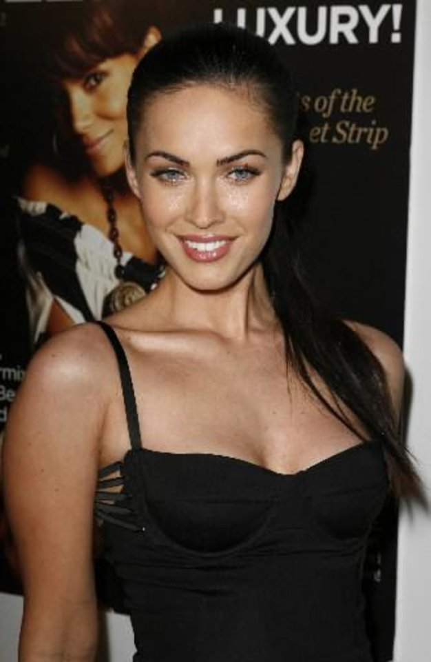 Photo -  Actress Megan Fox arrives at the Hollywood Live Magazine's 7th annual Breakthrough of the Year Awards, Sunday, Dec. 9, 2007 in the Hollywood area of Los Angeles. (AP Photo/Gus Ruelas)