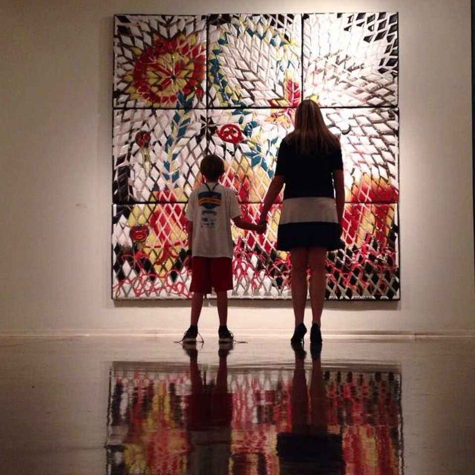 Oklahoma Contemporary in Oklahoma City - Photo by Instagrammer @erinoldfieldart