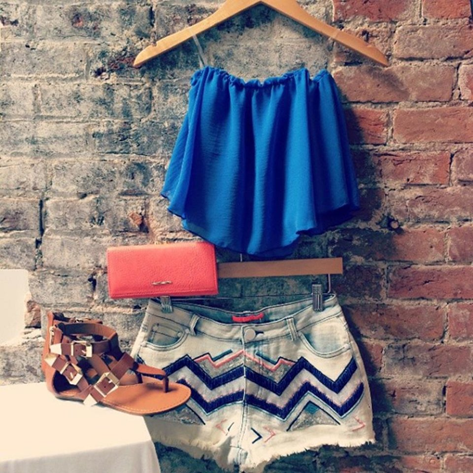 Photo - This June 10, 2014 photo provided by UOI Boutique and posted to the company's Instagram account shows an