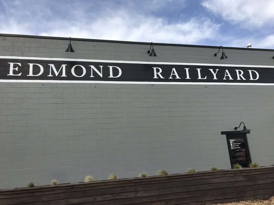 Photo - Edmond's Railyard is nearly at full capacity with this weekend's grand opening of the 1884 Bar. [Dave Cathey/The Oklahoman]