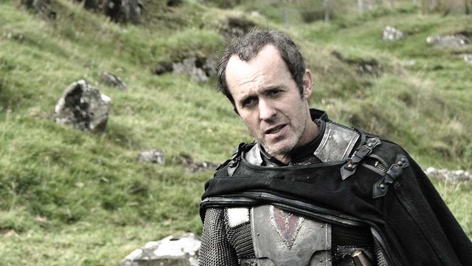 Photo -  Stannis Baratheon, oh so serious.