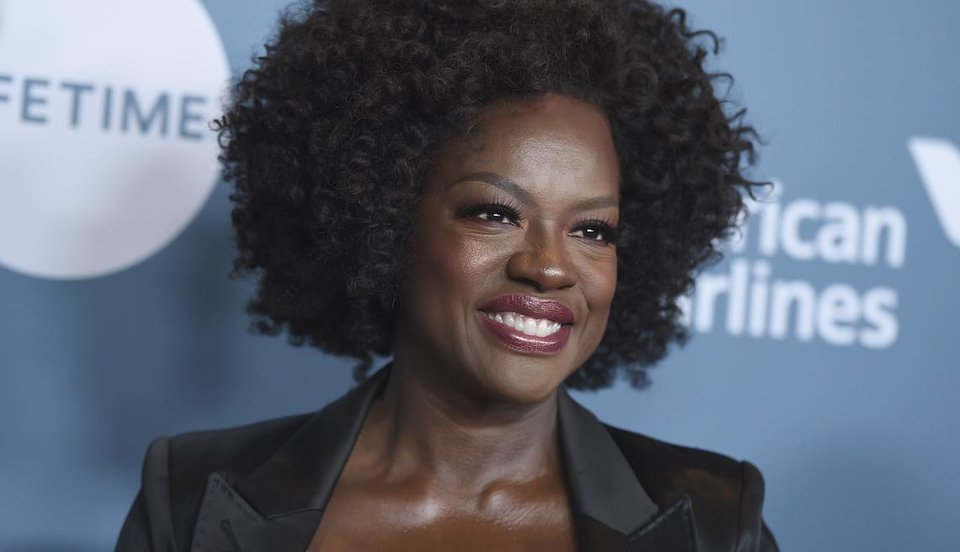 Photo - Viola Davis is the new face of L'Oreal.  (Photo by Jordan Strauss/Invision/AP)