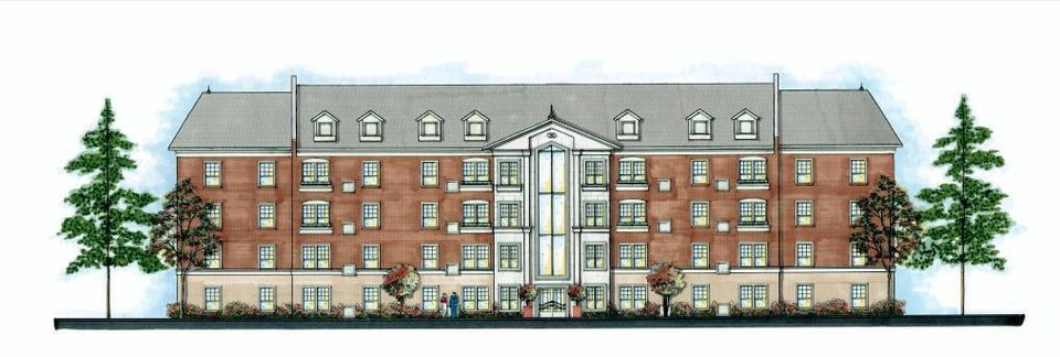 Photo - A proposed, 48-unit senior housing complex is being opposed by residents as inappropriate for the site at NW 13 and Shartel.  Provided