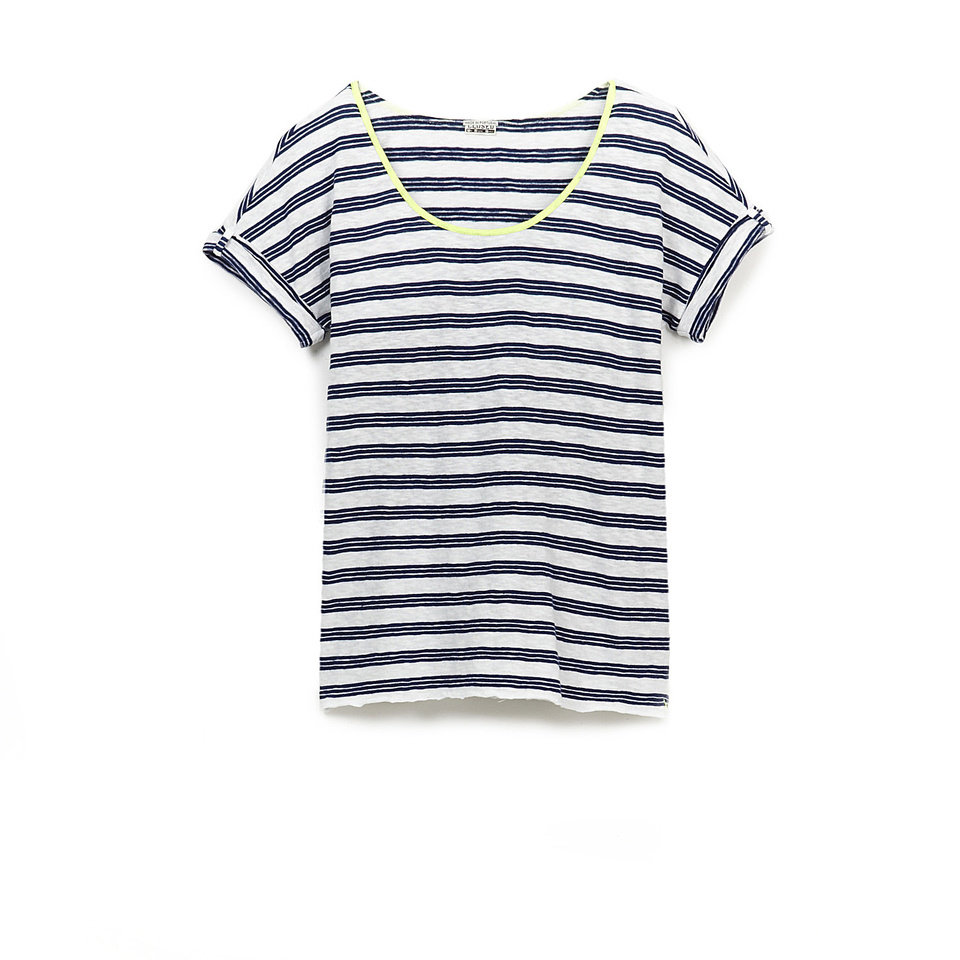 Tomboy style clothing may include this striped short sleeve tee by Closed / Stevenalan.com $140. (Courtesy Closed via Los Angeles Times/MCT)