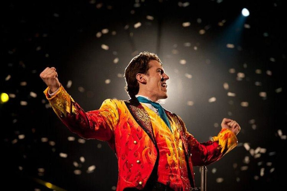 Photo - Brian Crawford Scott is just the 36th ringmaster in the 141-year history of Ringling Bros. and Barnum & Bailey Circus. Photo provided.