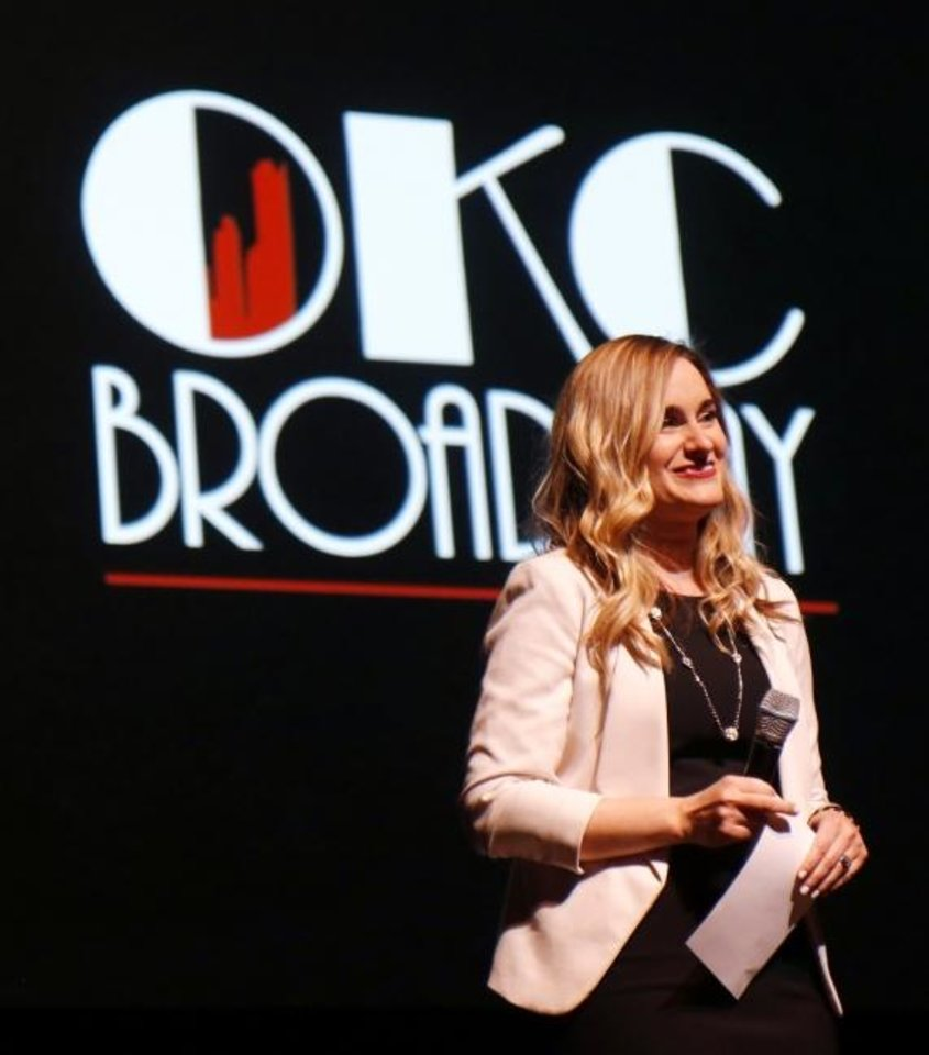Photo -  Elizabeth Gray, general manager of OKC Broadway and executive director of the Civic Center Foundation  [Doug Hoke/The Oklahoman Archives]
