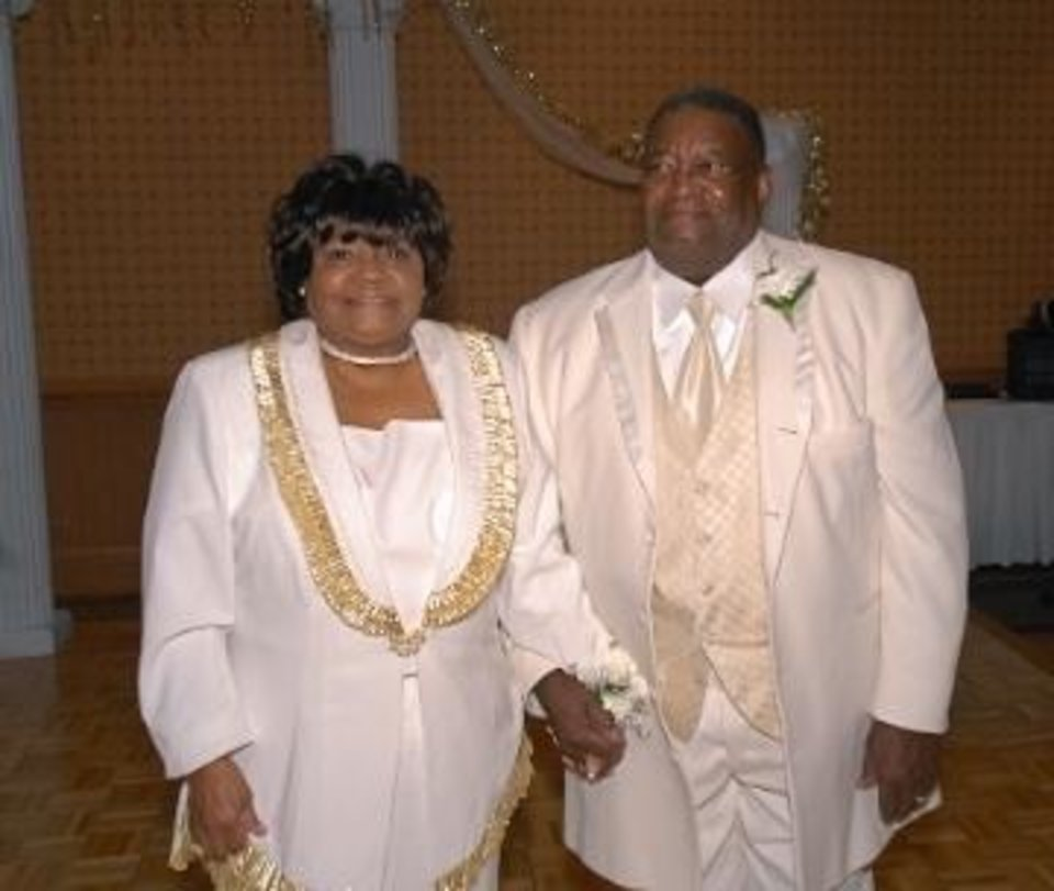 Evelyn and Eric Thrower. - PHOTO PROVIDED