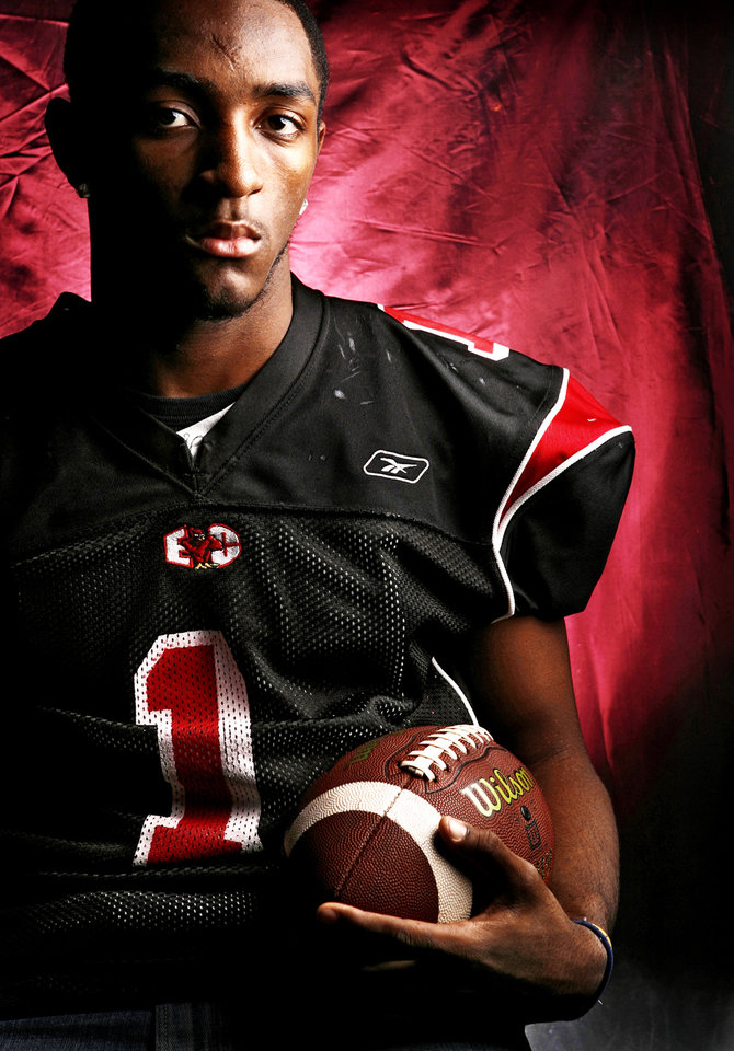 Tulsa East Central High School's Corey Taylor All State Wide Receiver. 