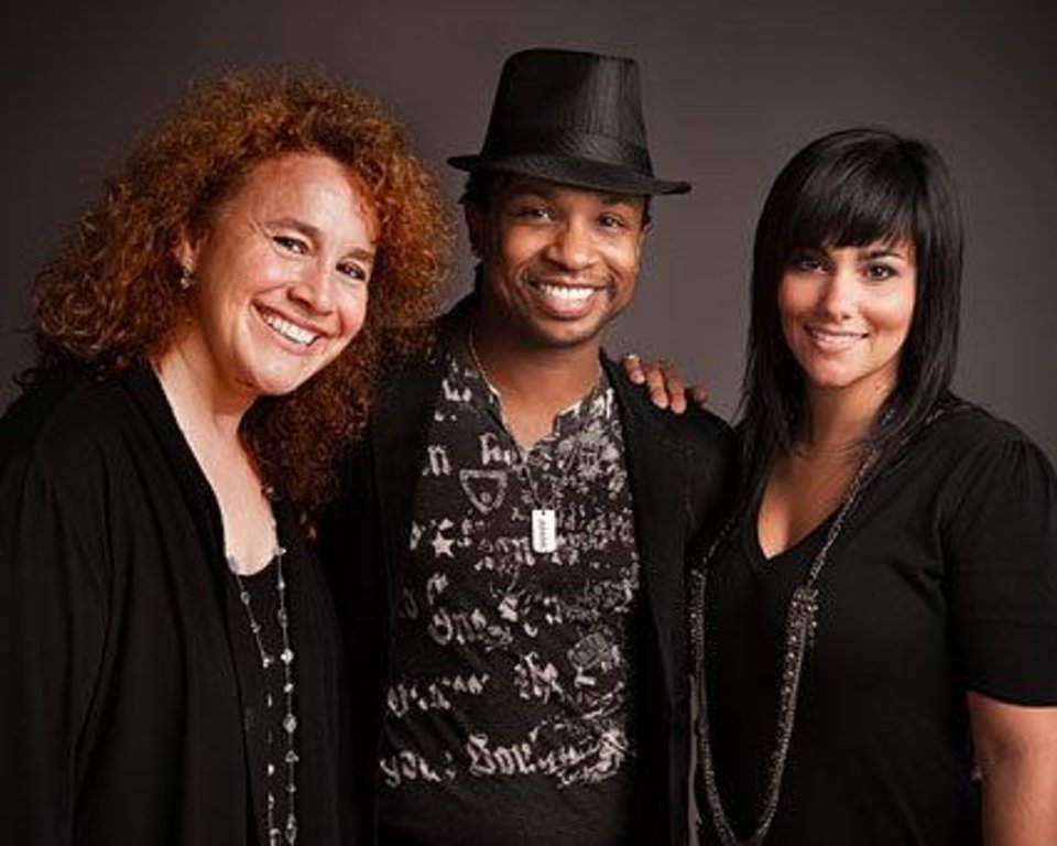 Kelli Reisen, James Delisco and Felicia Barton in the �Music of Michael Jackson.�