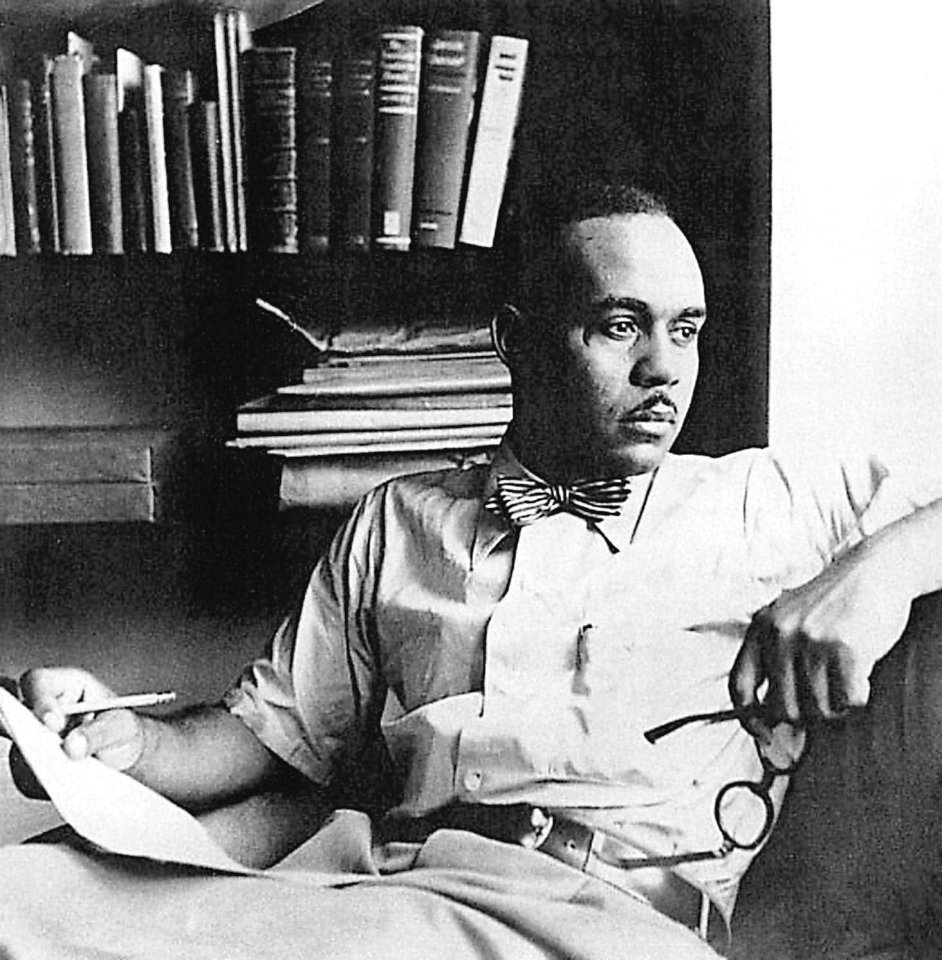 Photo - Oklahoma author Ralph Ellison.   - The Oklahoman archives