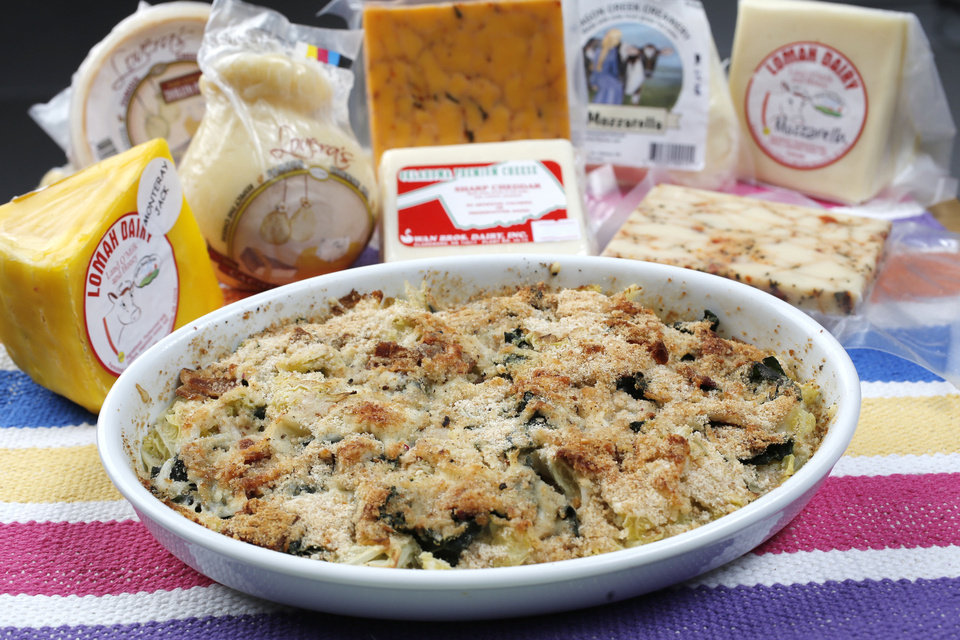 Oklahoma cheeses for Sherrel Jones' Oklahoma Table column, Friday, January 4, 2013. Photo by Doug Hoke, The Oklahoman