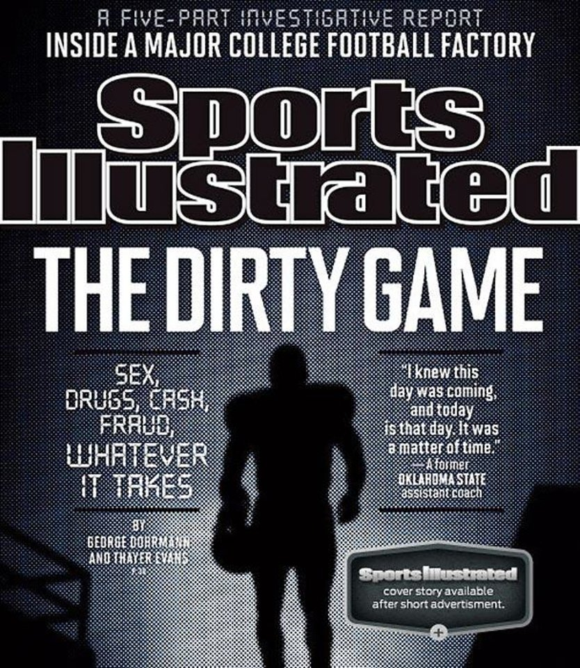 Photo -  The cover of the September 2013 Sports Illustrated magazine.