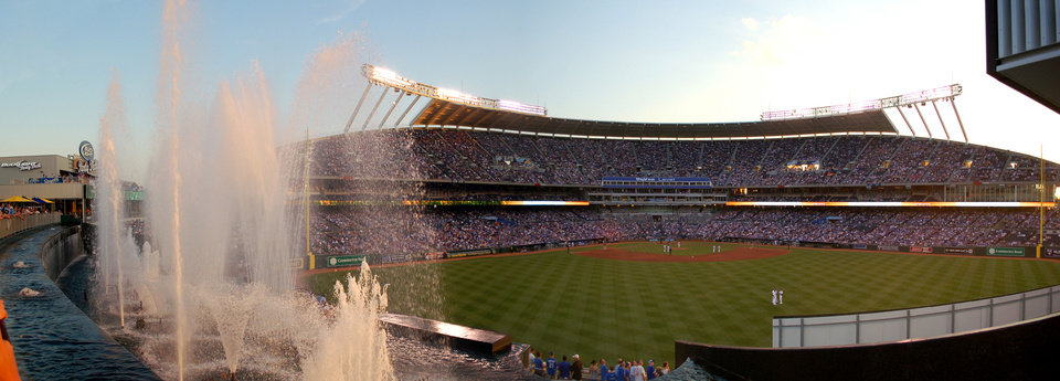 Photo - It's only fitting that the ballpark in the City of Fountains has fountains of its own.   - PROVIDED