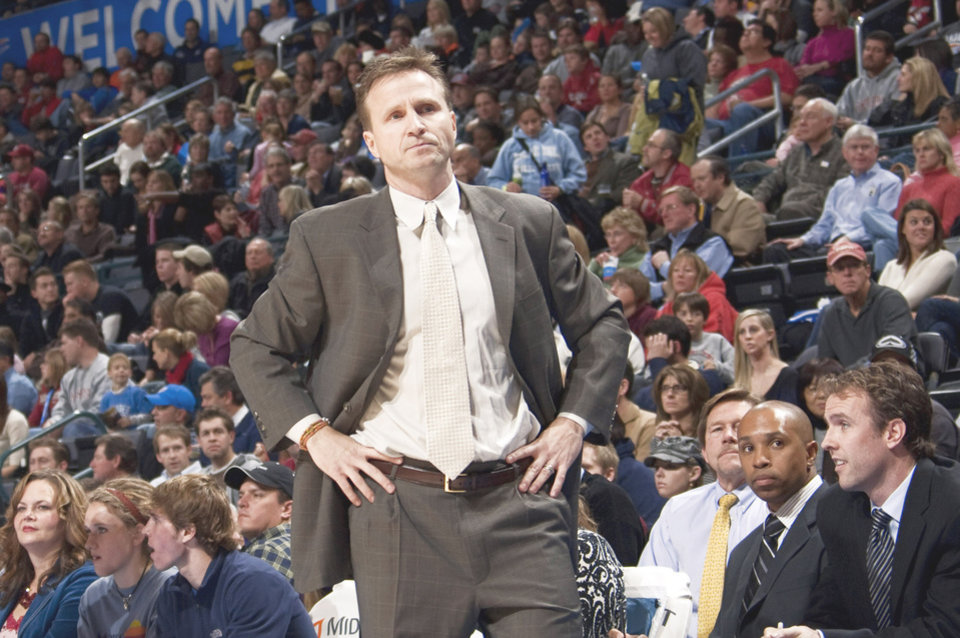 Photo - Thunder coach Scott Brooks made some changes, but the results have been the same. PHOTO BY SARAH PHIPPS, THE OKLAHOMAN