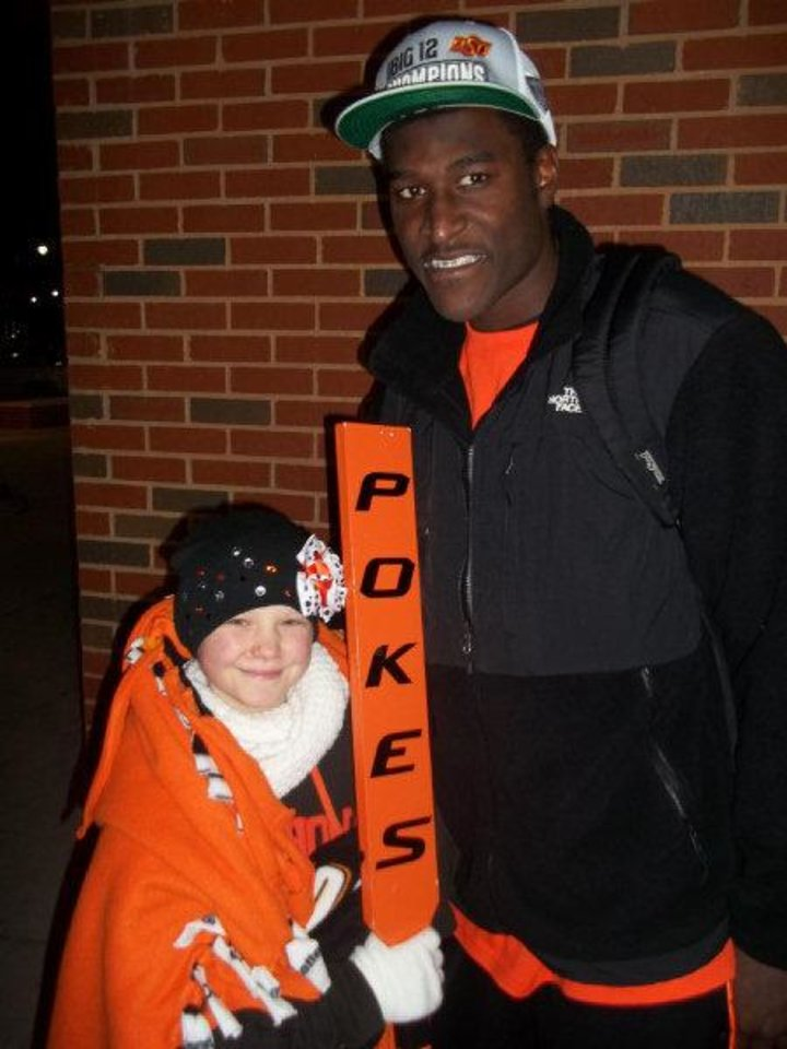 Photo - Justin Blackmon and Olivia Hamilton. PHOTO PROVIDED