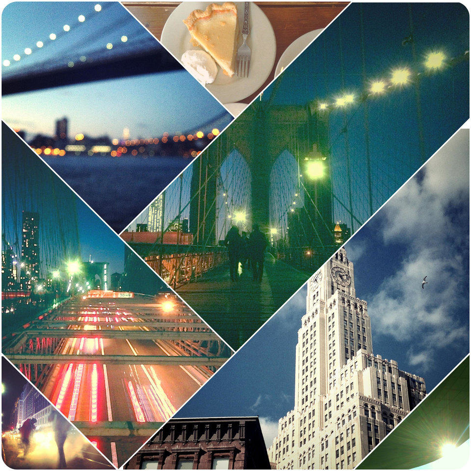Travel photographer John Barnett used the mobile application Diptic to create this collage of New York City images. PHOTO PROVIDED. <strong></strong>